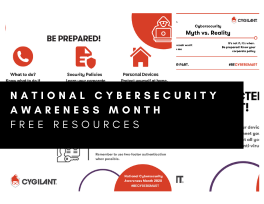 National Cybersecurity Awareness Month Free Resources