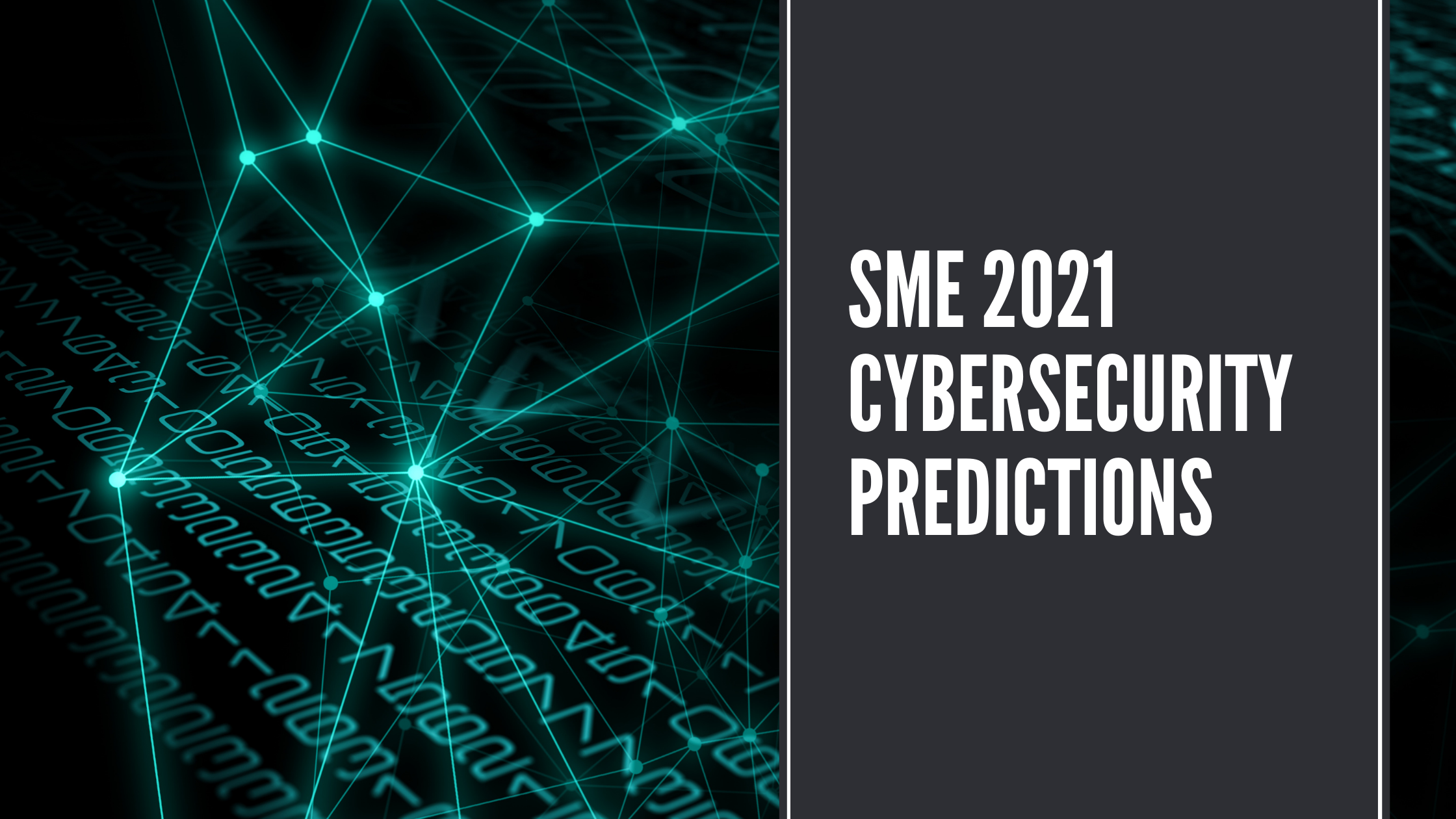 SME 2021 Cybersecurity Predictions