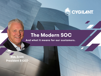 The Modern SOC and what it means for our customers