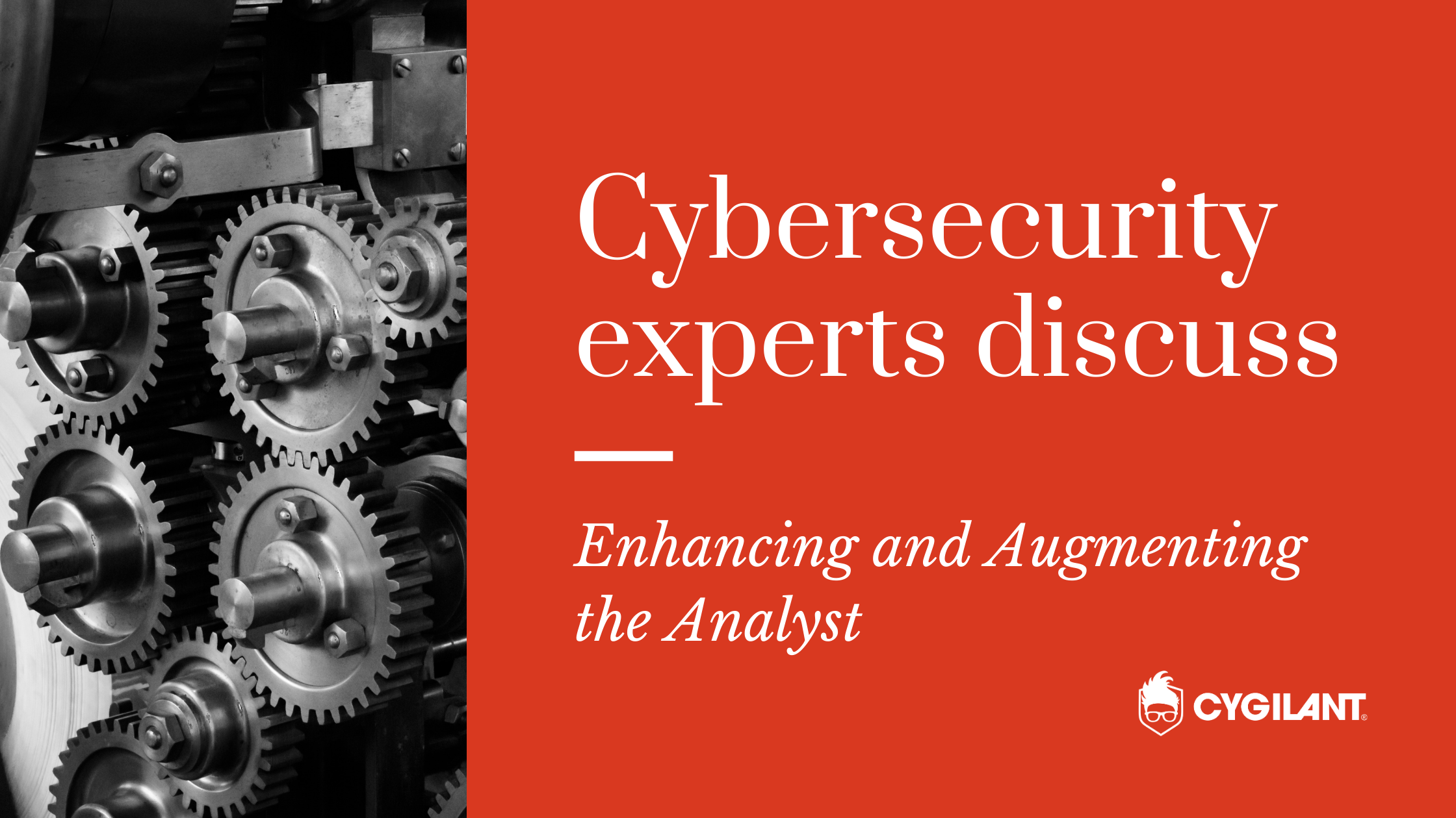 Cybersecurity Experts Discuss: Enhancing and Augmenting the Analyst