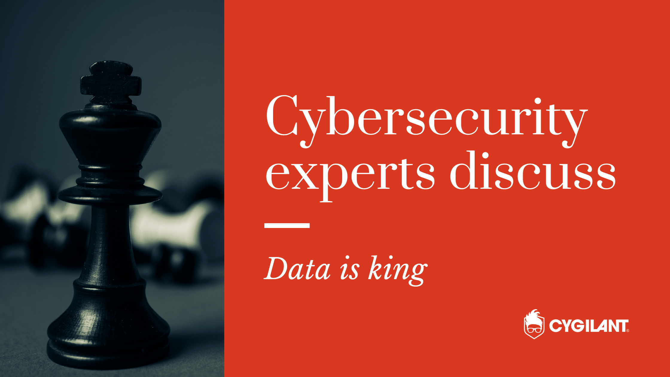 Cybersecurity Experts Discuss: Data is King